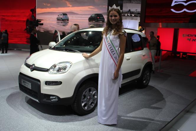 En direct du Mondial 2012 : Fiat Panda 4x4, le retour du mini baroudeur