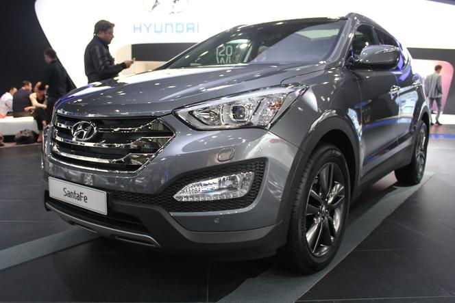 Vidéo en direct du Mondial 2012 : Hyundai Santa Fe, premium à la coréenne