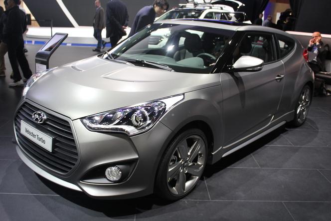 Vidéo - en direct du Mondial 2012 : Hyundai Veloster Turbo, les chevaux qui lui manquaient