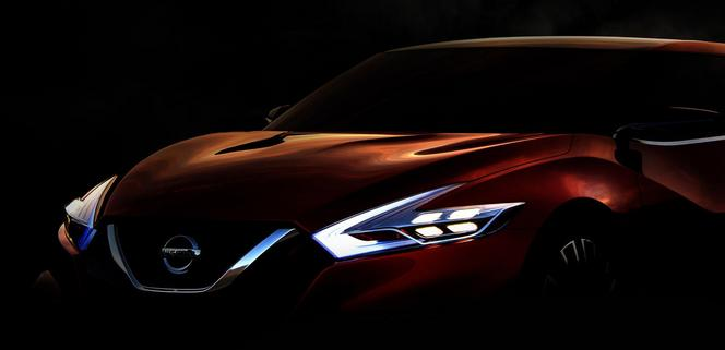 Détroit 2014 - Nissan Sport Sedan Concept: teasing première