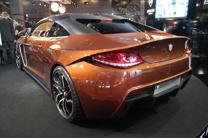 Video - en direct du Mondial 2012 : Exagon Motors Furtive e-GT, une Fisker Karma à la française