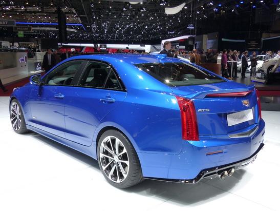 Cadillac ATS-V : familale très délurée –  En direct du salon de Genève 2015