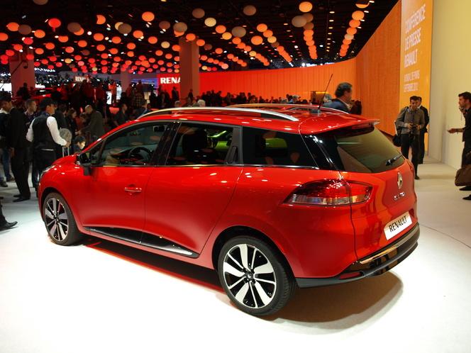 Vidéo en direct du Mondial de l'auto - Renault Clio 4 Estate : lookée
