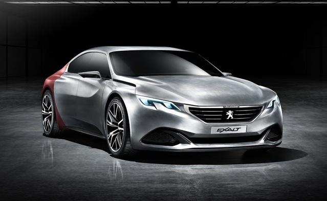 Parmi ces 17 nouveautés, la remplaçante de la Peugeot508. L'auto sera inspirée par le concept Exalt.