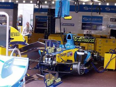 GP d'Allemagne Hockenheim: Fia-Renault: Rebondissement autour d'un amortisseur