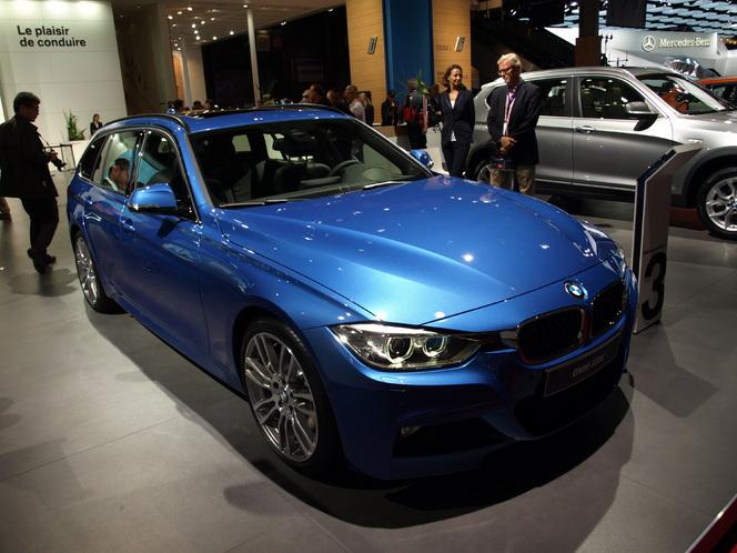 Vidéo en direct du Mondial de l'Auto - BMW Série 3 Touring : l'élégance