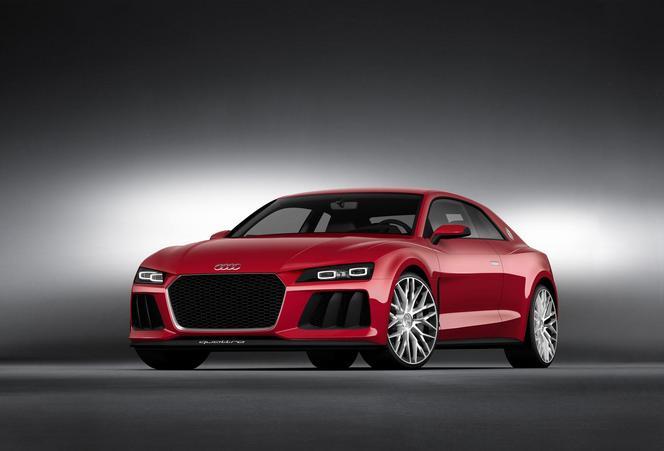 Audi présente le concept Quattro Sport Laserlight