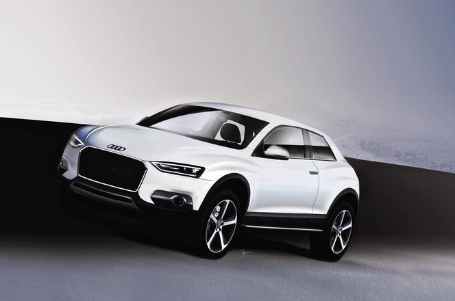 Mondial de Paris 2012 : l'Audi Crosslane Coupé se précise