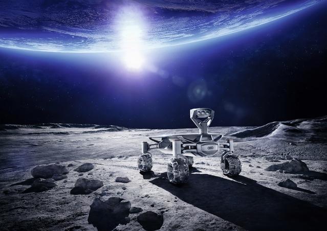 Une Audi sur la Lune fin 2017