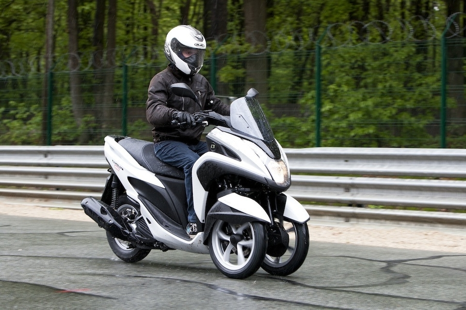 Yamaha Tricity/MBK Tryptik 125 : disponibles en version ABS à 4499 €