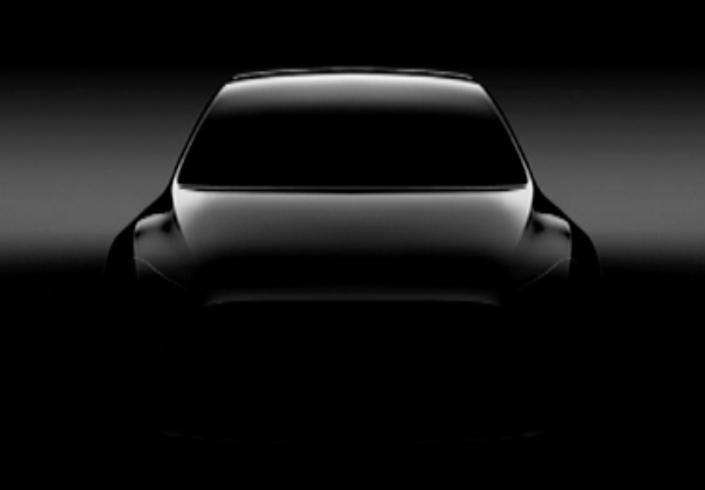 Tesla : voici le premier teaser du SUV compact Model Y