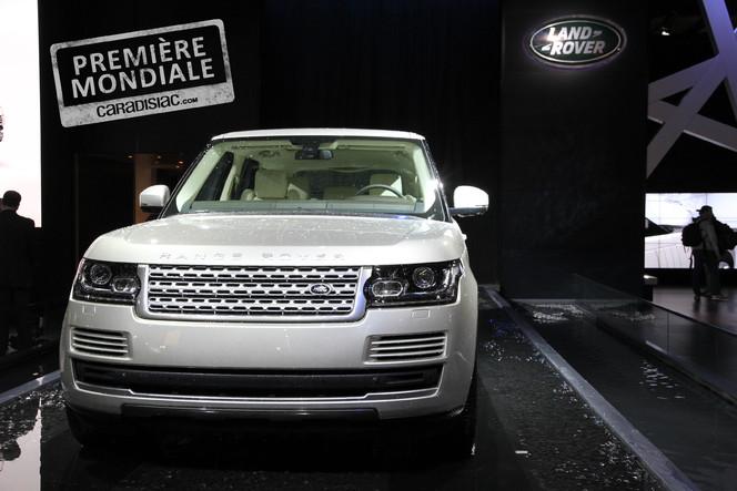 Vidéo en direct du Mondial 2012 : Land Rover Range Rover, plus léger mais toujours gros