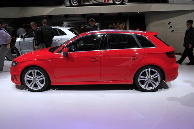 Vidéo en direct du Mondial 2012 - nouvelle Audi A3 Sportback