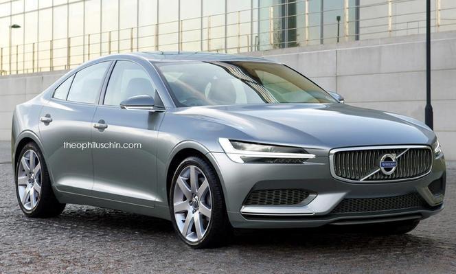 Future Volvo S90 : comme ça ?