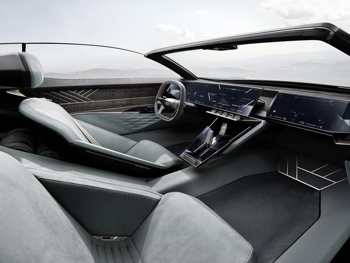 Audi Skysphere, het eerste concept van de toekomst
