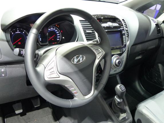 Hyundai ix20  : léger restylage –  En direct du salon de Genève 2015