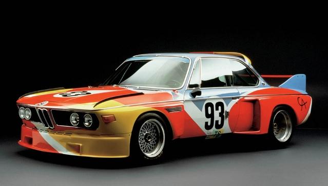 La première BMW Art Car.