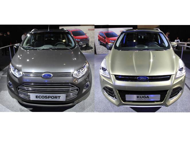 Vidéo en direct du Mondial 2012 : les nouveaux Ford Kuga et Ecosport