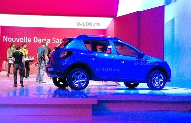 Mondial de Paris 2012 : le Dacia Sandero Stepway se montre déjà