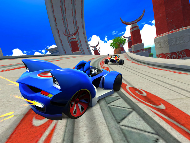 Sonic & all stars racing Transformed sur iPhone, iPad, iPod Touch et sur Google Play