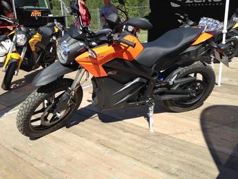 Salon de Val d'Isère 2017 - Zero Motorcycles