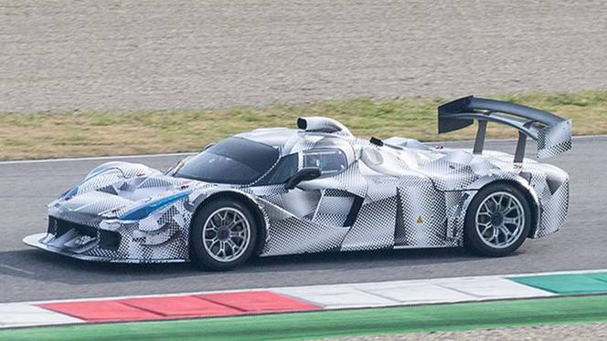 Surprise : une LaFerrari d'Endurance en test !!