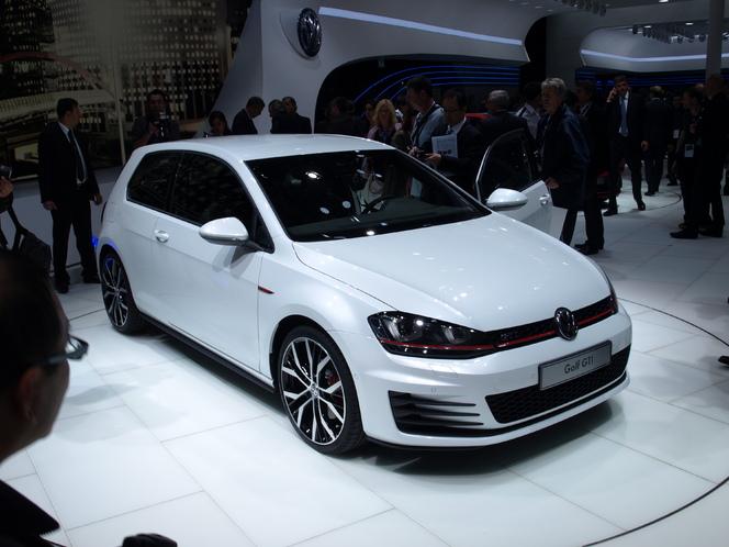 En direct du Mondial de l'auto - Volkswagen Golf 7 GTI : à deux vitesses
