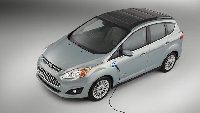 Ford : un C-Max à panneaux solaires en concept