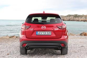 Mazda CX-5 restylé : en avant-première, les photos de l'essai