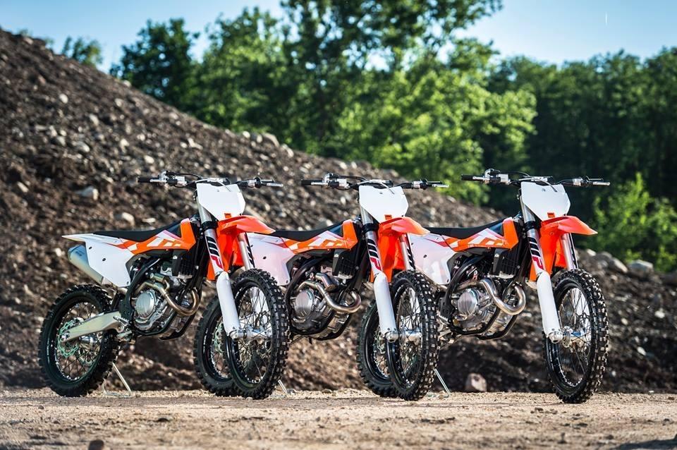 Nouveauté : les KTM SX et SX-F 2016 dévoilées à Maggiora