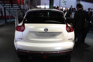En direct du Mondial 2012 - Nissan Juke Nismo : enfin de série !