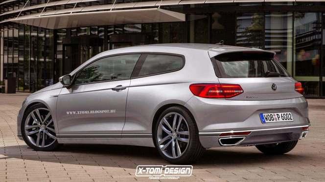 Un graphiste imagine le prochain Volkswagen Scirocco