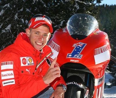 Moto GP: La Ducati GP8 brise la glace