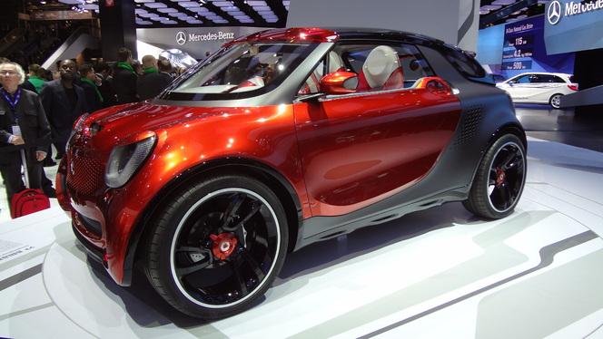 En direct du Mondial 2012 - Smart Forstars Concept: Il est où le cul-cul ?