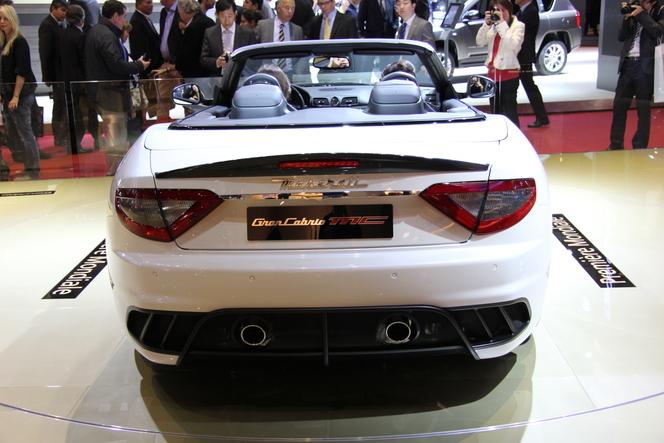 Mondial de Paris 2012 - Maserati GranCabrio MC : toujours plus