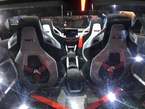 Skoda Vision RS Concept : une Rapid rapide - En direct du Mondial de l'Auto 2018