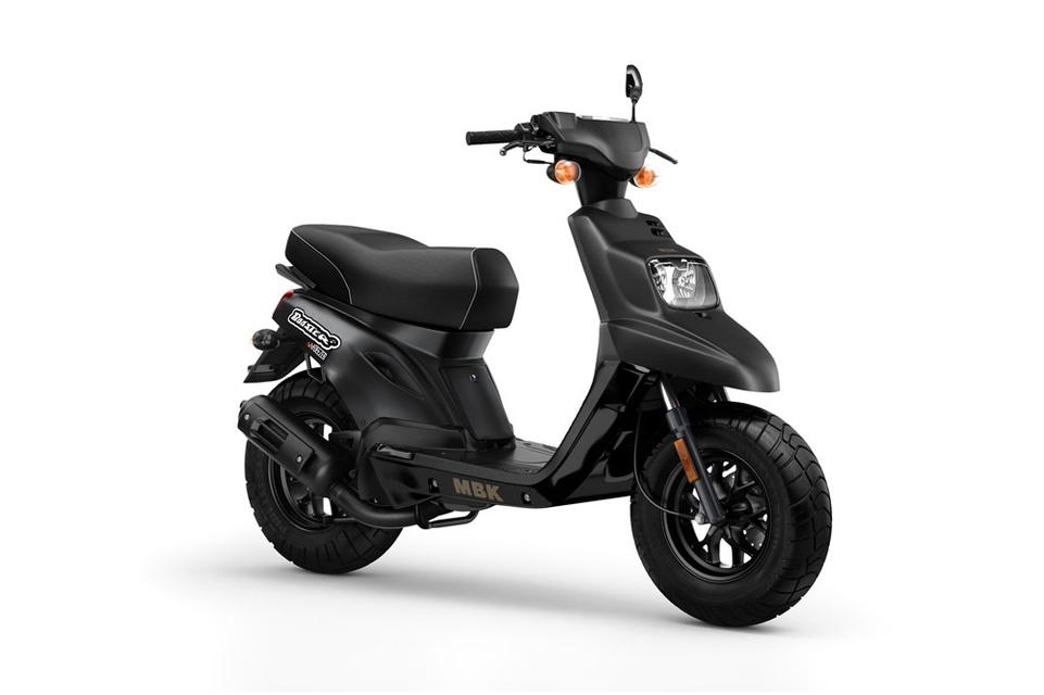 Nouveauté scooter 2015 : MBK Booster Deezer série limitée à 400 exemplaires
