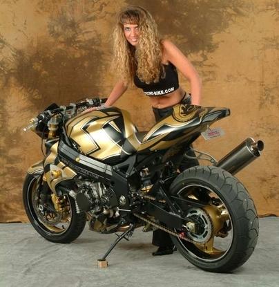 Moto & Sexy : les Babes de chez Tecno Bike