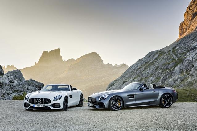 Mercedes-AMG GT: les prix de la R et du roadster