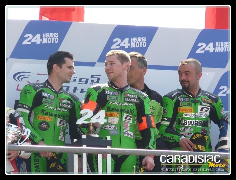 24 H du Mans en direct - D4 : Da Costa, Four et Leblanc victorieux avec la Kawasaki n°11