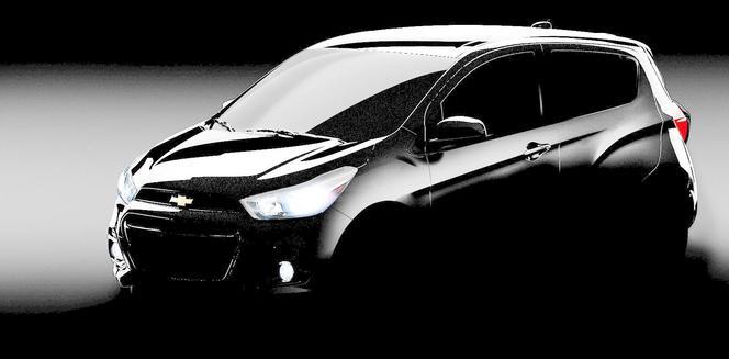 La nouvelle Chevrolet Spark s'annonce