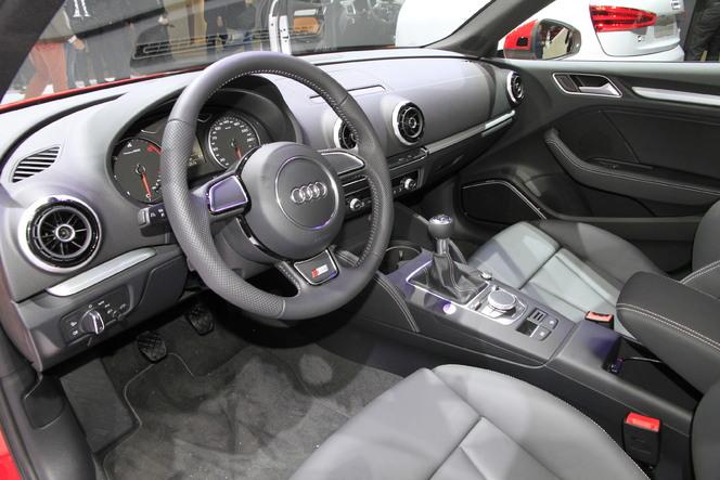 En direct du Mondial 2012 : l'Audi S3 est une timide