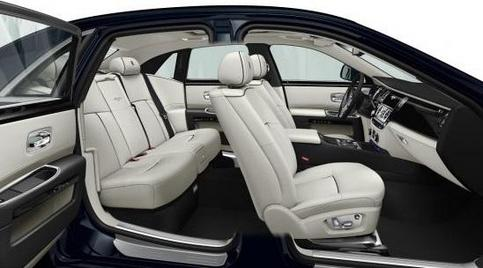 Rolls-Royce Ghost V-Spec.: teintée de sportivité