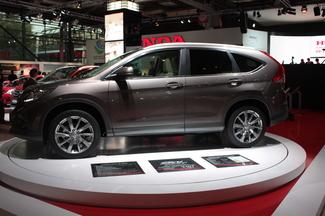 En direct du Mondial 2012 - nouveau Honda CR-V : évolution de style