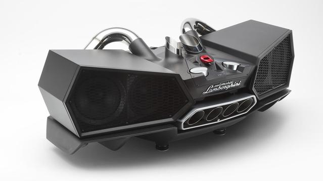 Offrez-vous un haut parleur Lamborghini pour Noël