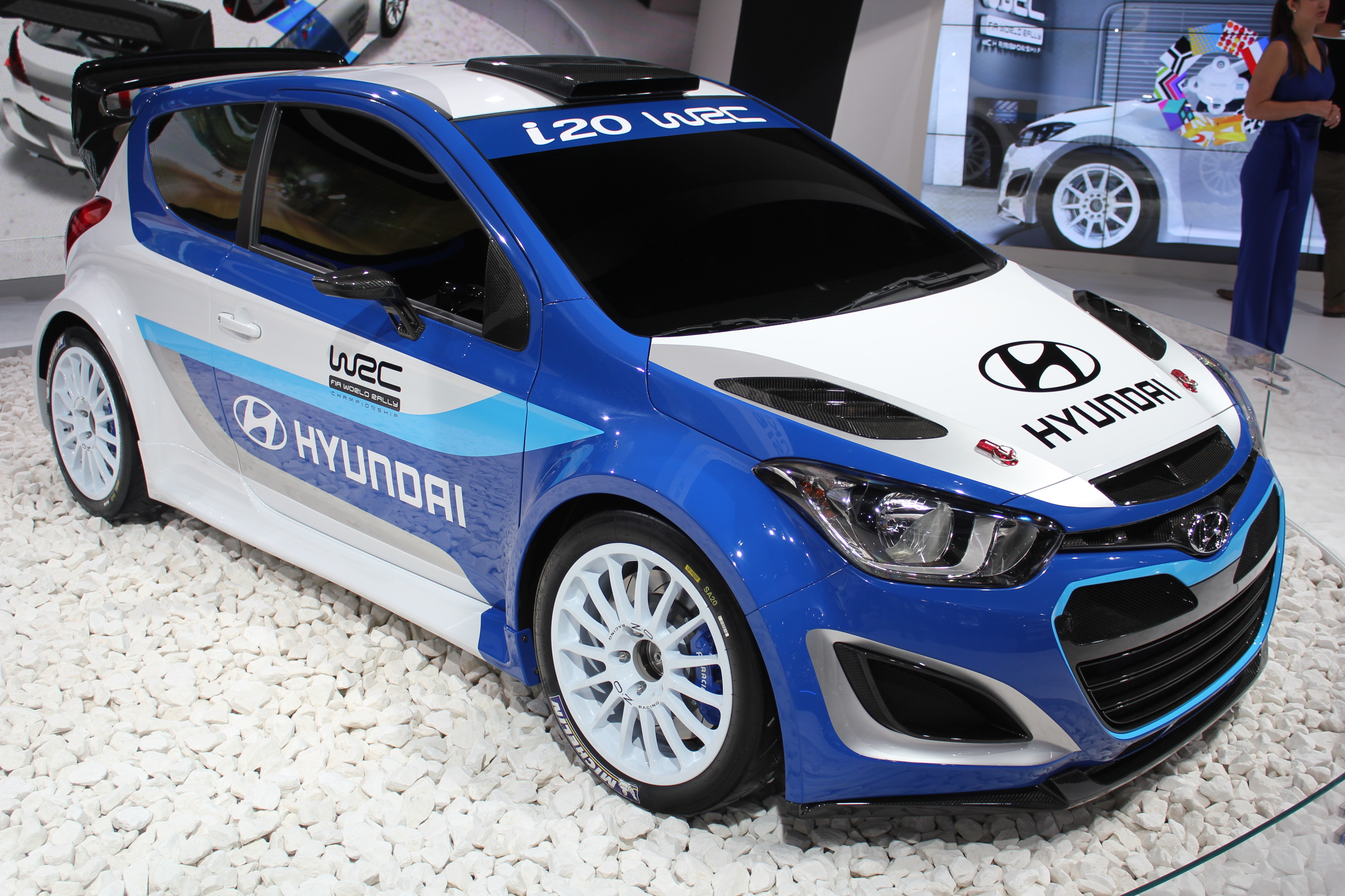 en direct du mondial 2012 hyundai i20 wrc le retour au rallye. Black Bedroom Furniture Sets. Home Design Ideas