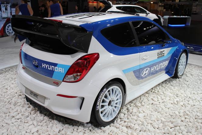 En direct du Mondial 2012 : Hyundai i20 WRC, le retour au rallye