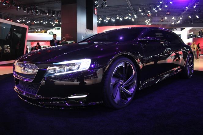 Vidéo en direct du Mondial 2012 : Citroën Numéro 9, le futur des DS