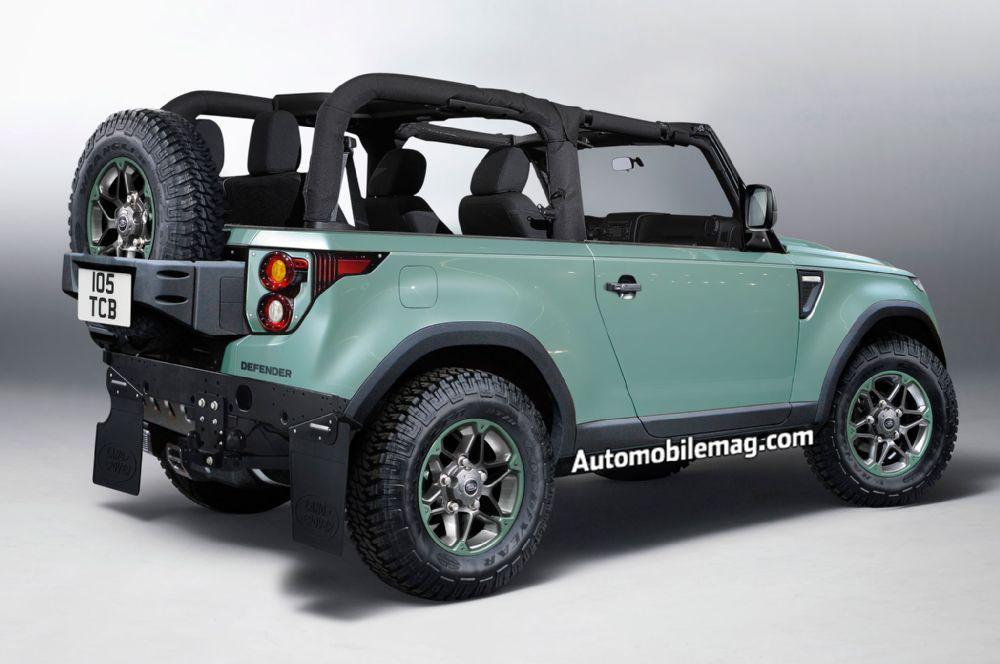 La prochaine génération du Land Rover Defender pour 2018