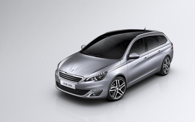 Voici la nouvelle Peugeot 308 SW